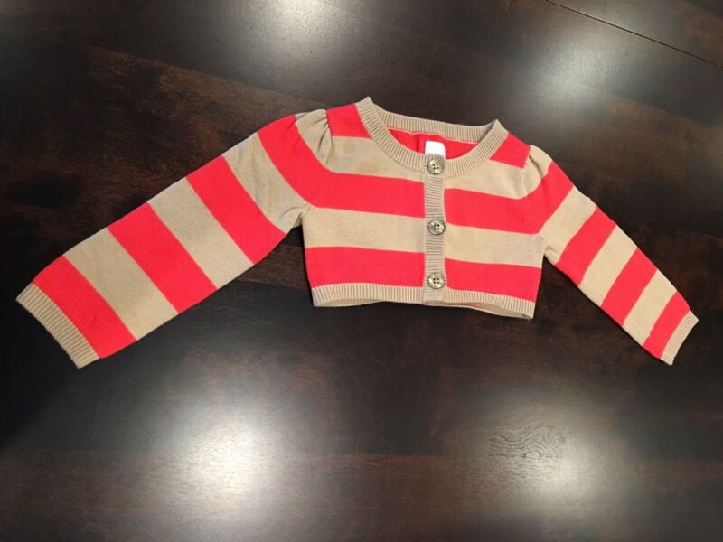 Baby Gap Cropped Sweater Cardigan - 18-24 Month - EUC