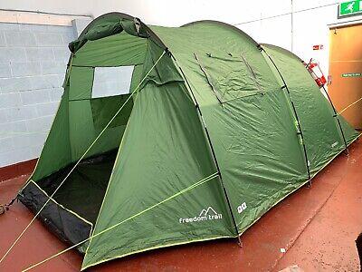 Freedom Trail Sendero 6 Man Berth Tent *** RRP £250 *** Family Camping 805