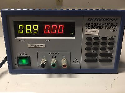 Bk Precision 1785a Programmable Dc Power Supply Module Industrial 0-18v 0-5a