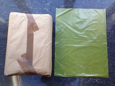 50 Yellow Flat Polythene Sacks/Bags 450 x 615mm (18 x 24