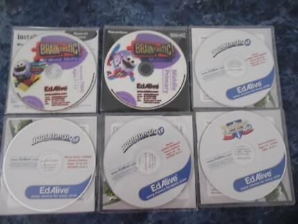 BRAINtastic EdAlive PC Software for Windows or Mac, 6 cd's