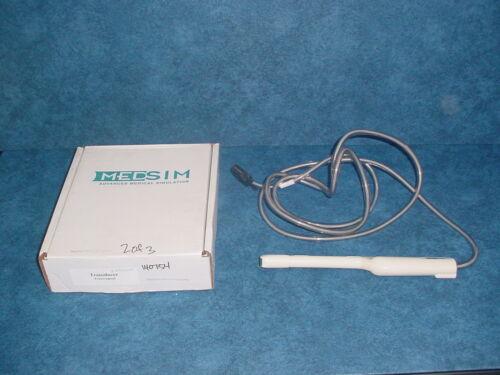 MedSim Transvaginal Ultrasound Training Transducer Probe, 5.0MHz w/Packaging