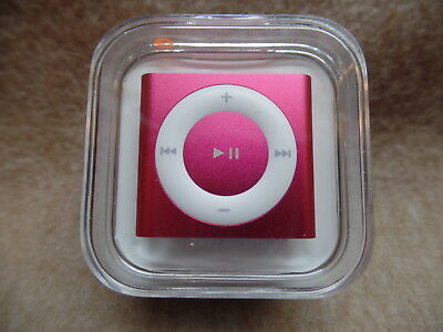 Apple iPod shuffle 2GB MP3 Player Pink 6th Generation MKM72LL/A