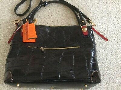 321910aaef アメリカ Women,s hand bag,Leather,Large,Black,Marino Orlandi,Italy