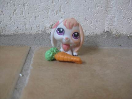 Littlest Pet Shop - Rabbit with Carrot Adamstown Newcastle Area Preview