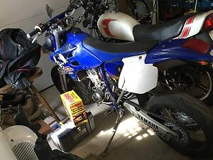 Supermoto Wr 450 blue plated