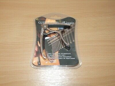 Adagio Guitar Capo For Acoustic Or Electric - SILVER