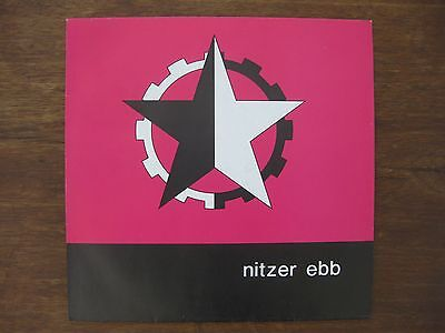 "NITZER EBB ""Warsaw Ghetto"" Maxi Single, 12 Inch, Germany 1986, NEUwertig!"