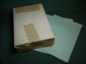 1000 Blatt AROS Durchschlagpapier Dupa Papier DDR OVP grün grau A4 FHP