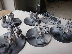 Warhammer 40k imperial guard Astra Militarum 6x heavy weapon team Melbourne CBD Melbourne City Preview