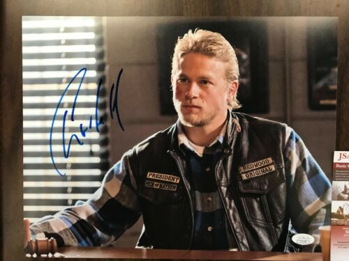 Sons of Anarchy Charlie Hunnam Autographed Signed 11x14 Photo JSA COA #3