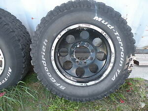 Truck 8 Bolt Rims and Tires Peterborough Peterborough Area image 4