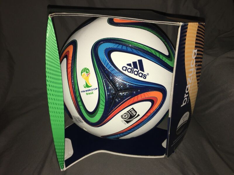 Adidas Brazuca Official World Cup 2014 Brazil Match Soccer Ball Size 5 Germany