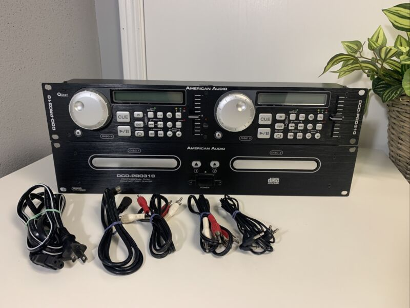 American Audio DCD Pro 310 Dual CD Player and DJ mixer