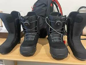 Burton Step On Snowboard boots and bindings Kit for sale