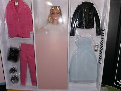 NEW 2021 COLLECTOR SIGNATURE BARBIE STYLE @BARBIESTYLE GIFSET FASHION 2021 NRFB
