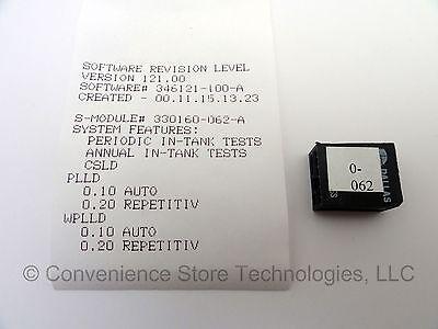Veeder-root Tls-350 330160-062 Csld Software Sem Module