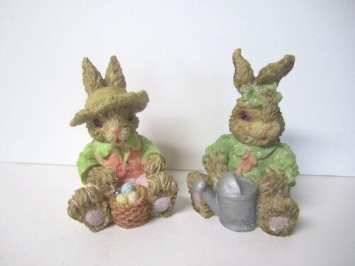 Easter Rabbit Figurines
