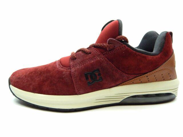 Dc Heathrow W IA SE Burgundy Men Shoes size 8 to 13
