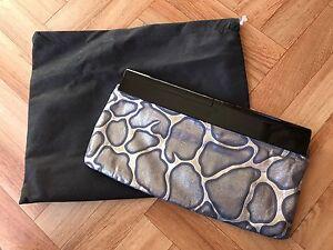 PeepToe metallic clutch bag Dubbo Dubbo Area Preview
