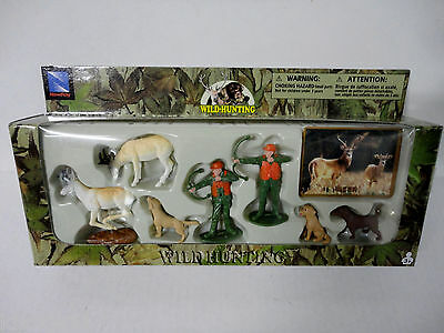 Deer Bow Hunters Wild Hunting Figurines Cake Topper Toys  eBay