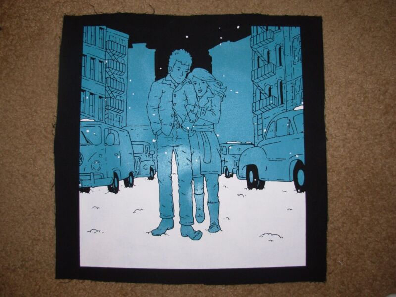 BOB DYLAN canvas poster print The Freewheelin Bob Dylan derek eads concert gig