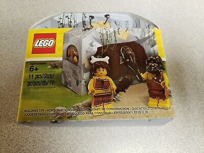 Authentic LEGO Iconic Cave Promo Caveman Cavewoman set #5004936 Brand New!