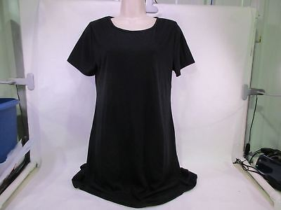 For G & PL Women's T-Shirt Dress Black Medium NEW