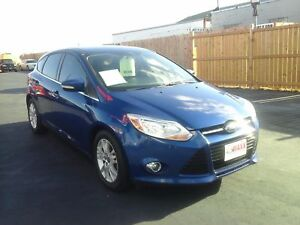2012 FORD FOCUS SEL- HEATED FRONT SEATS, BLUETOOTH, SYNC, SPEED