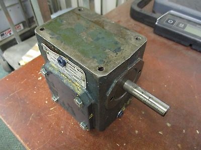Grove Gear Reducer Spvh218-4 Ratio 201 0.814hp In Used