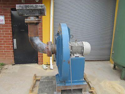 Fe Fan Equipment 14-29 Hi Pressure Centrifugal Blower 600cfm 20hp 230460v 3ph