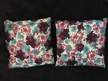 Cushion Covers x2 Floral Noranda Bayswater Area Preview
