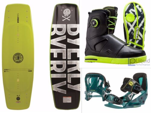 Wakeboard Beginners Bundle (170+ Pounds) Byerly Wakeboard, Binding, and Boots