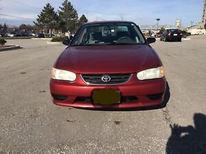 2002 Toyota Corolla Automatic No Rust very Clean $1500