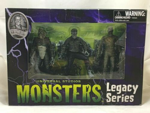 DIAMOND SELECT Universal Studio Monster CREATURE WOLFMAN MUMMY Legacy Series set
