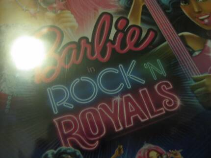 DVD.BARBIE ROCK 'N ROYALS BRAND NEW SEALED.NEVER OPENED. Redcliffe Belmont Area Preview