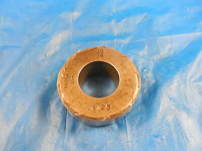 .8125 Master Plain Bore Ring Gage Onsize 1316 20.638 Mm .81250 Inspection Tool