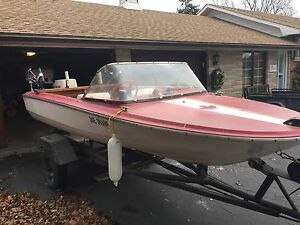 16' Prince Craft boat w/trailer and motor