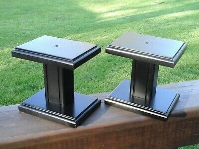 SMALL SPEAKER STANDS BLACK  6  x  4    X 6