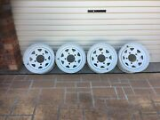 SET OF 16x7 WHITE STEEL SUNRAYSIA RIM Conder Tuggeranong Preview