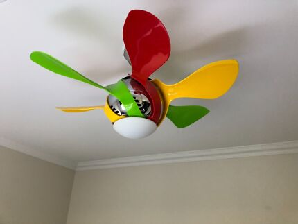 Ceiling fan air conditioning heating gumtree australia harlequin ceiling fan with light kids fan mozeypictures Images