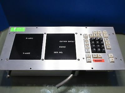 Charmilles Andrew Wire Edm Operator Keyboard Control Panel