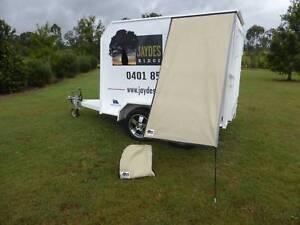 PREMIUM Caravan Fridge / Window Shade SIMPSON SAND Childers Bundaberg Surrounds Preview