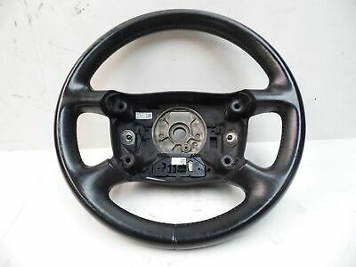 Audi A4 Cabriolet 03-04 Convertible 4-Spoked Steering Wheel, Black Leather