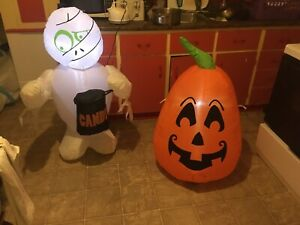 Halloween/ Christmas inflatables