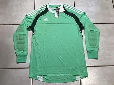 30d73f5f0a9 NWT ADIDAS Adizero Onore 14 Green Goalkeeper Soccer Jersey Men s 2XL