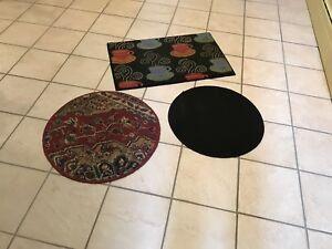 Carpettes variées (3)