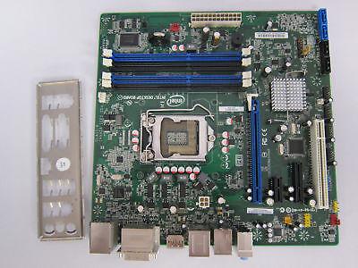 Intel Motherboard DQ67SW + I/O guard FULLY TESTED LGA1155 SOCKET MICRO ATX
