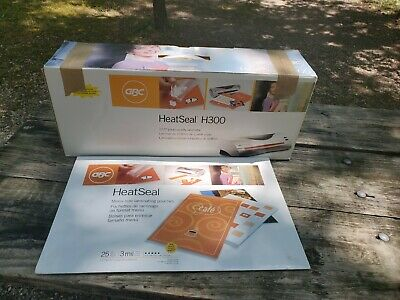 Mint Gbc Heat Seal H300 Professional Quality Pouch Laminator 12.5 Wide