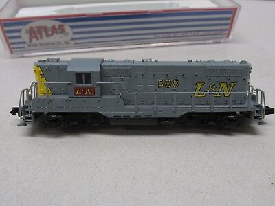ATLAS ~ LOUISVILLE & NASHVILLE GP-9 POWERED LOCOMOTIVE # 508 ~N SCALE for sale  Monticello